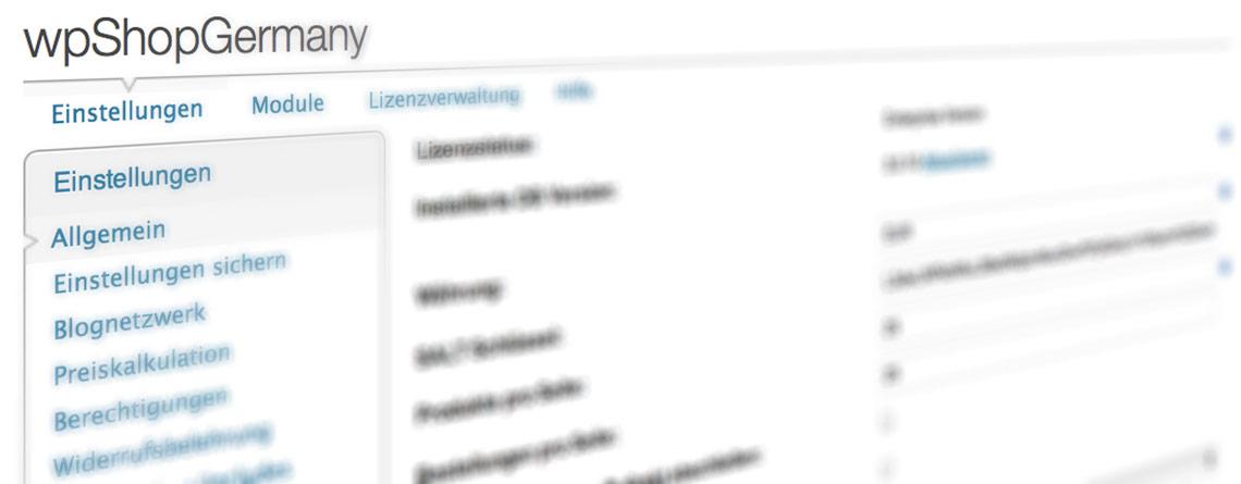 wordpress shop plugin