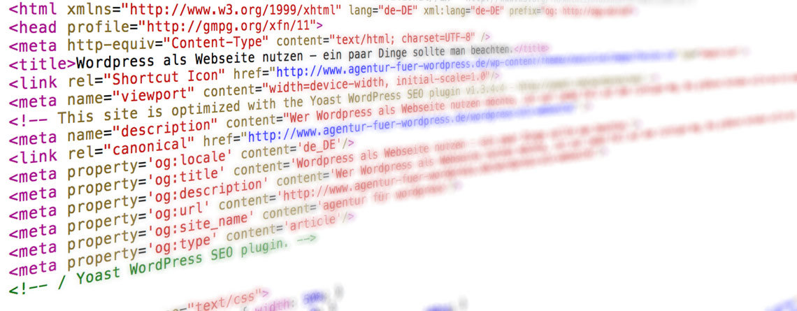 wordpress suchmaschinenoptimierung